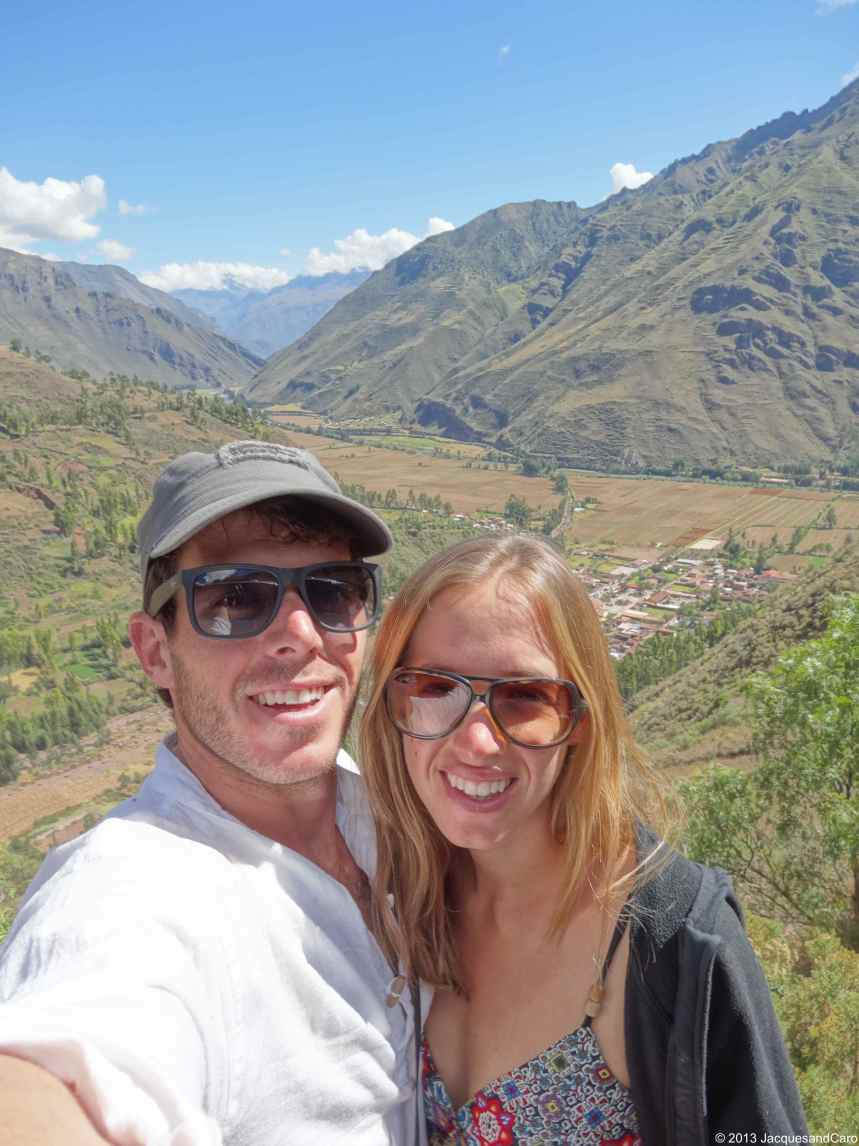 Us before arriving at Pisaq in the sacred valley area