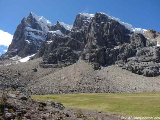 The Puscanturpa at 5,442 m, next to Cuyoc