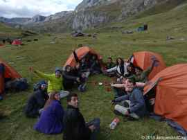 We join a group of people from Israel who are doing the trek in 8 days...