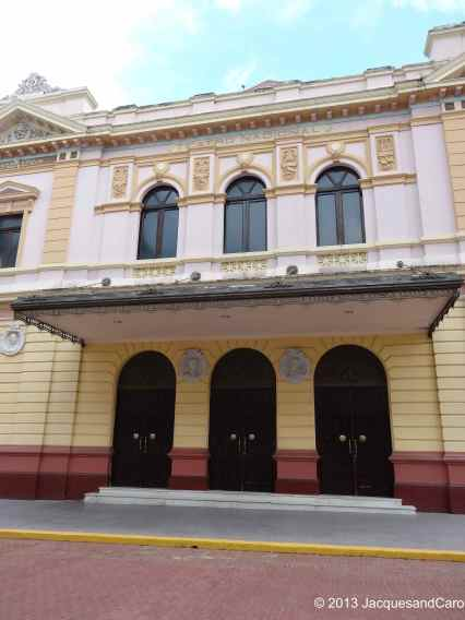 The national theatre in Casco Viejo