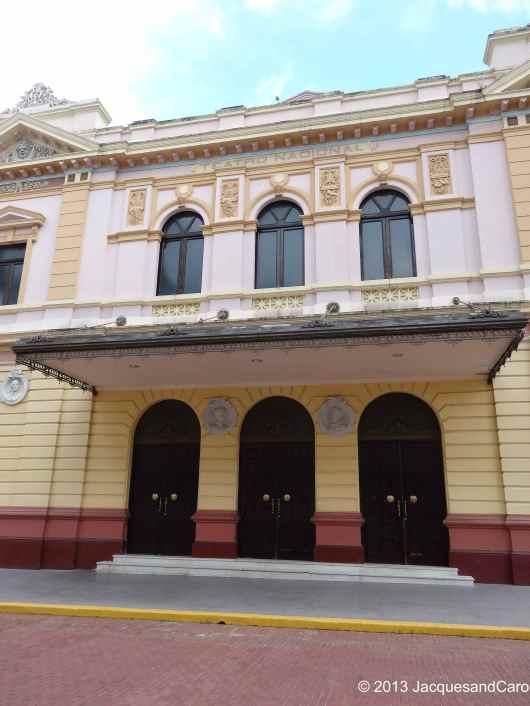 The national theatre in Casco Viejo