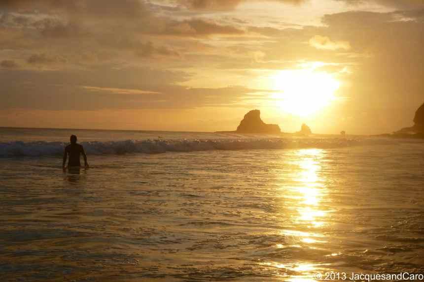 Sunset in Playa Madera, a few km away from San Juan del Sur