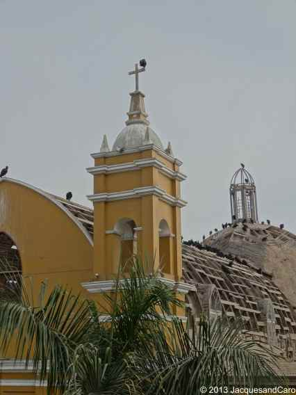 Church roof in Barranco