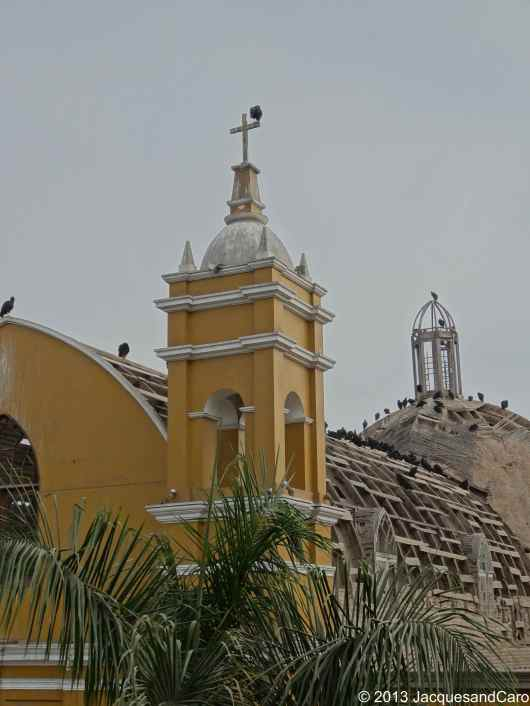 Church roof in Barranco