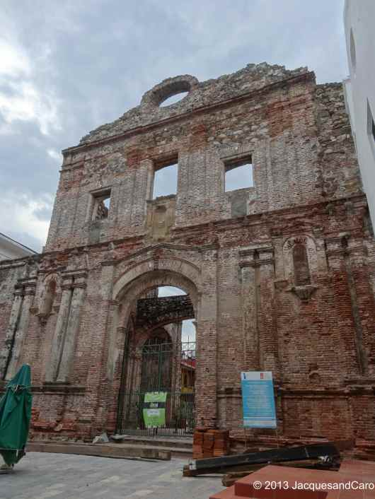 Casco Viejo museum (closed at the time we came)