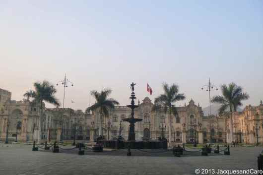 Government palace on the mayor square