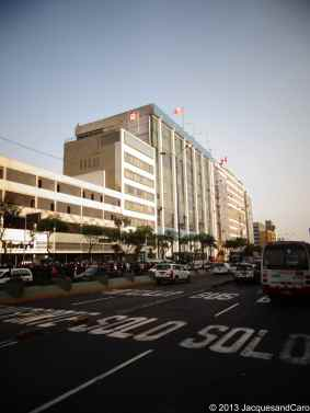 Lima city governmental buildings