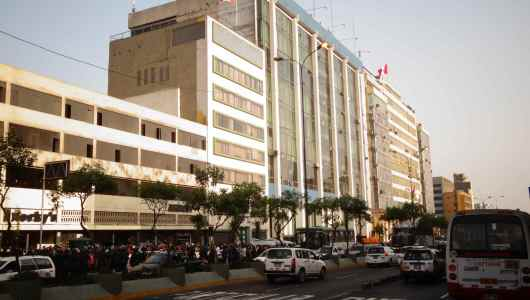Lima city governmental buildings