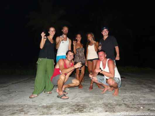 Private party… our group...