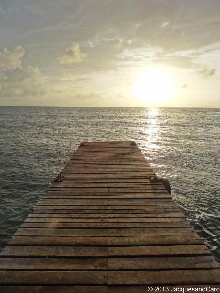 Sunset in Big Corn Island