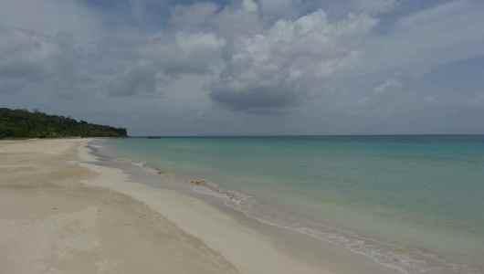 South West Bay beach is the most beautiful beach of Big Corn Island