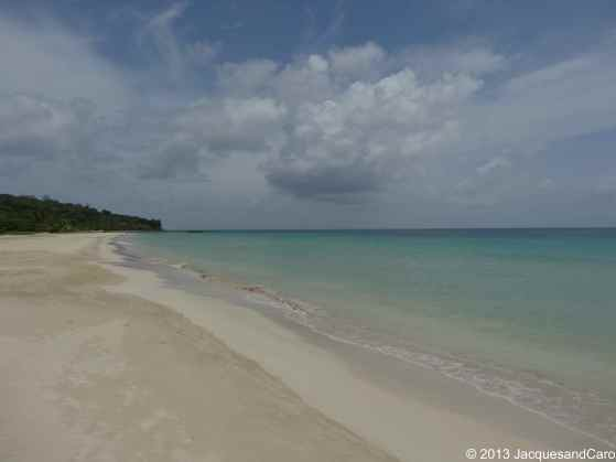 South West Bay beach is the most beautiful beach of Big Corn Island