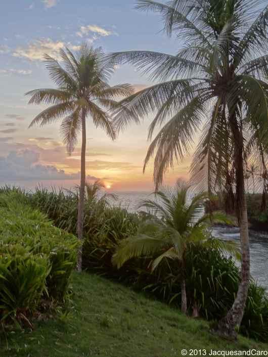 Most beautiful sunset at Morgan retreat