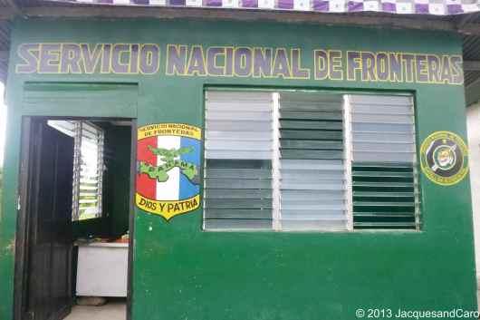 Panama border office