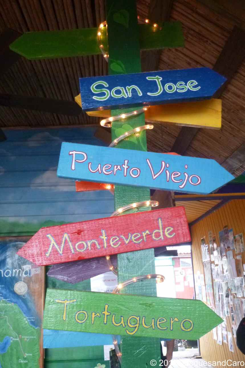 Next destination: Puerto Viejo in Costa Rica