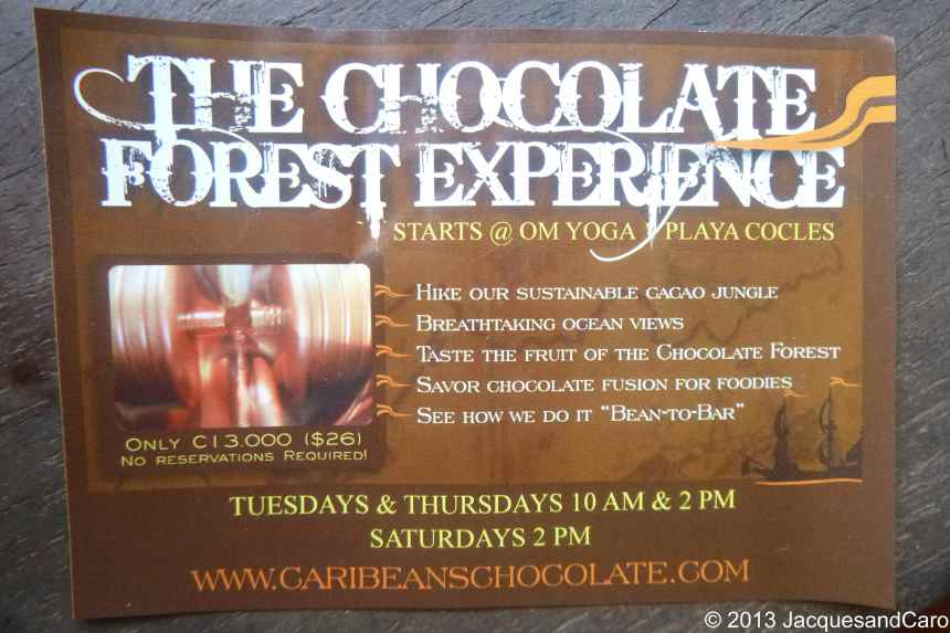 The chocolate tour we have done