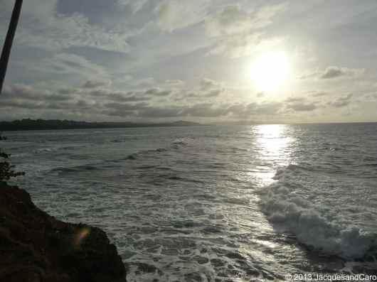 View from Punta Manzanillo toward the north