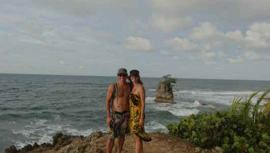 Us from Punta Manzanillo