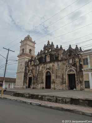 Xalteva church facing Xalteva park which has been rehabilitated
