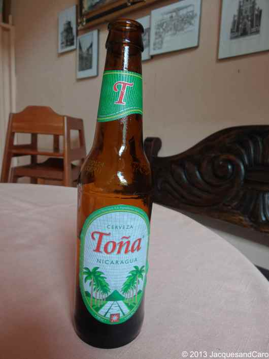 Local beer : La Tona