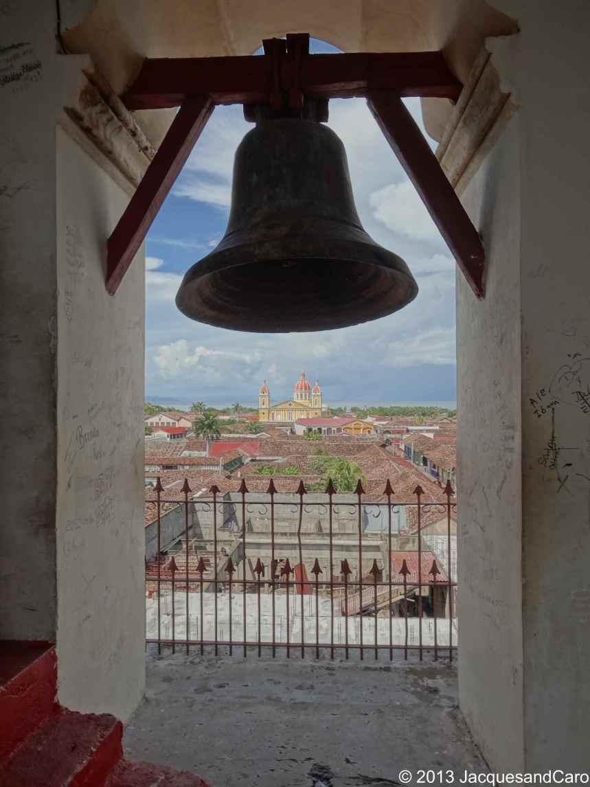 Bell of La Merced church