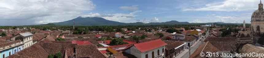View onto Granada from La Merced church