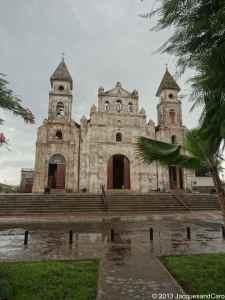 Guadalupe Church facing Lake Nicaragua