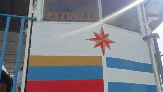 La Estrella del Sur, our boat to reach Nicaragua Island