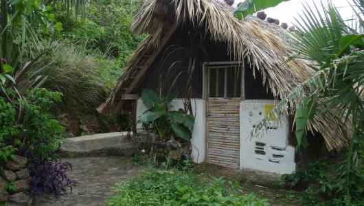 Our home for two days in Zopilote finca