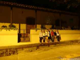 our night group again in Choluteca street