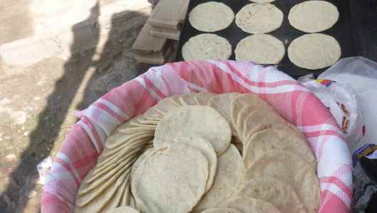 Ready to sell Tortillas.