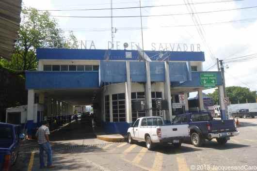 The Salvador border