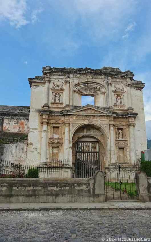 A lot of churches never got rebuilt.