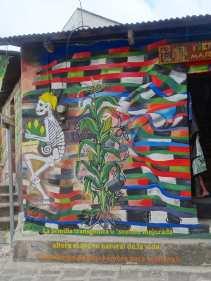Street art in San Pedro de la Laguna
