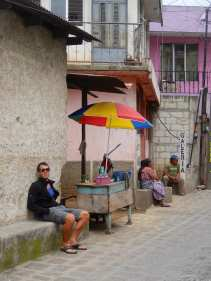 Like the locals... just sit and watch people passing