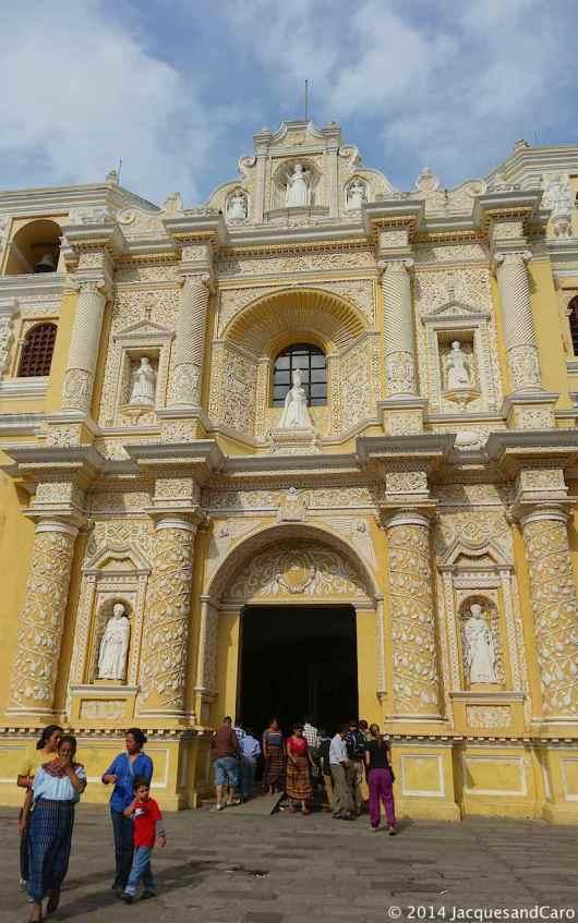 La Merced church...Quite baroque..