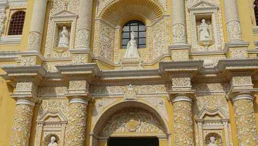 La Merced church...Quite baroque..