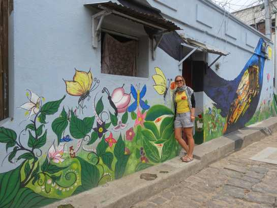Nice street art and Caroline