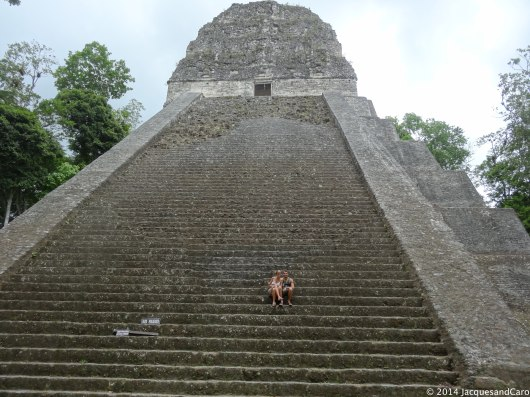 Us from Temple V stairs... Did you say massive?
