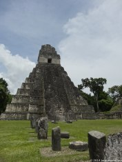 Temple II located in the main plaza