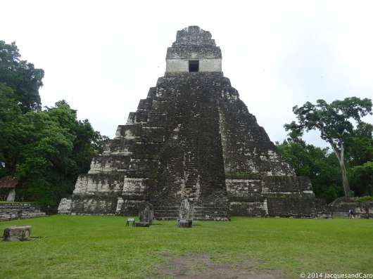The jaguar. Apparently from the top, you can hear people talking from Temple II...